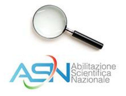 ABILITAZIONE SCIENTIFICA NAZIONALE 2021/2023